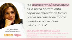Día Mundial contra el Cáncer de Mama – Entrevista a la Dra. María Martínez Gálvez