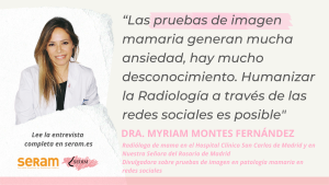 Día Mundial contra el Cáncer de Mama – Entrevista a la Dra. Myriam Montes Fernández